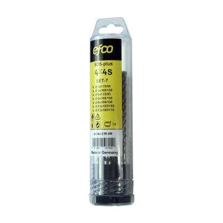 EFCO SDS-plus 4x4 S, Set-7 (5-12mm)