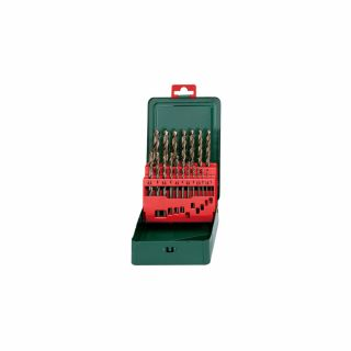 METABO HSS-CO, Ø 1-10mm x 0.5mm, 19-teilig